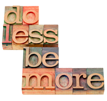 Write LESS Be Better - in 2013, I'm actually planning to write and blog less, but better quality.b